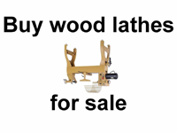 woodworking lathes used